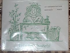 picture of Let's Talk Baskets Postcards