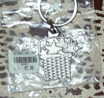 picture of 20th Century Pewter Key Chain