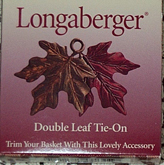 picture of Double Leaf Metal Tie-on