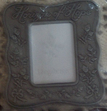 picture of Horizon of Hope Pewter Photo Frame