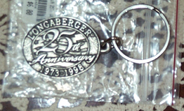 picture of 25th Anniversary Pewter Key Chain