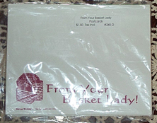 picture of From Your Basket Lady Postcards