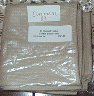 picture of Oatmeal Napkin