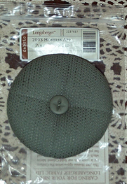 picture of 2003 Hostess Appreciation Pincushion Lid in Sage