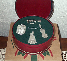 picture of 2003 Sounds of the Season Pewter Ornaments