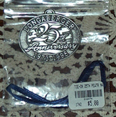 picture of 25th Anniversary Pewter Tie-on