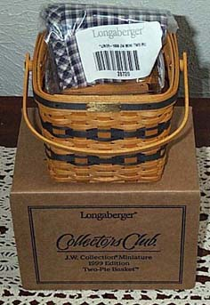 picture of 1999 CC Miniature Two Pie Basket